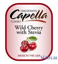 Capella - Wild Cherry with Stevia (Дикая Вишня), 5 мл